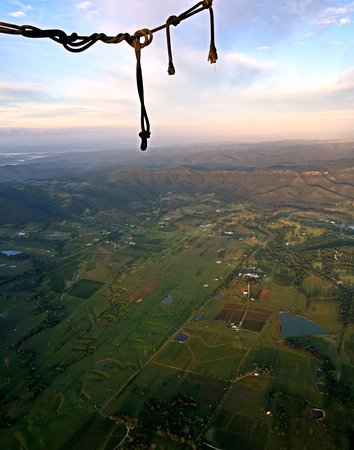 Pokolbin, Australia: Beautiful hunter valley view from the sky.