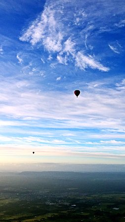 Pokolbin, Australien: Love to be in the sky, so quite and beautiful.
