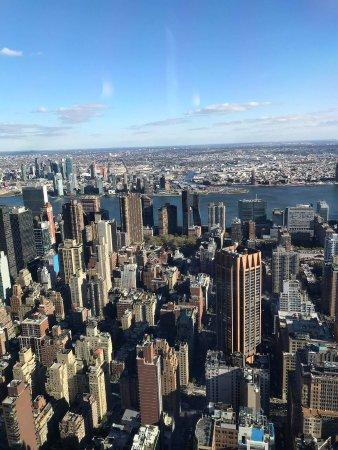 vue du 1er étage empire state building