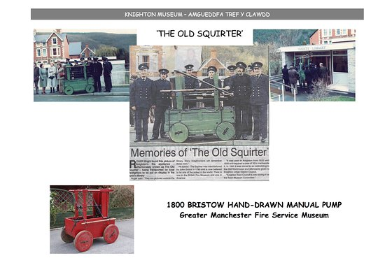 Knighton, UK: A bit about the history of the fire appliance.