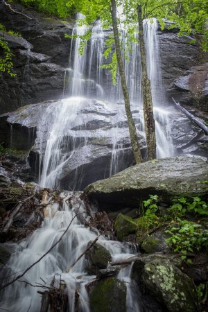 Spruce Pine, NC: Waterfall on our property