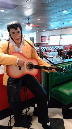 Le Roy, IL: Elvis, Marilyn and Blue Brothers were just some of the other patrons