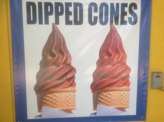 ฟิลลิปสบูร์ก, นิวเจอร์ซีย์: Yes we have dipped cones (summer time)
