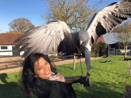 Cullompton, UK: A beautiful moment with Maya!