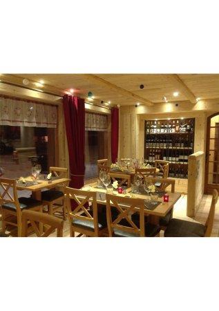 Fontcouverte-la-Toussuire, Francia: Salle de restaurant