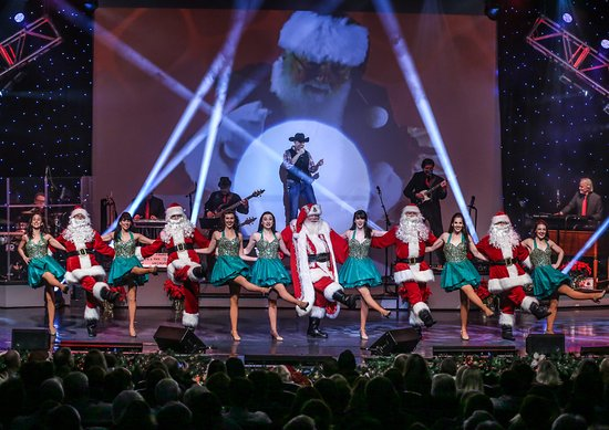Clay Cooper Theatre: Clay Cooper's Country Express Christmas - Santa