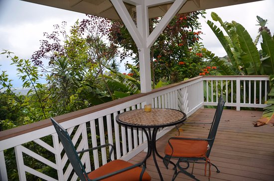 Holualoa, HI: Beautiful commons lanai