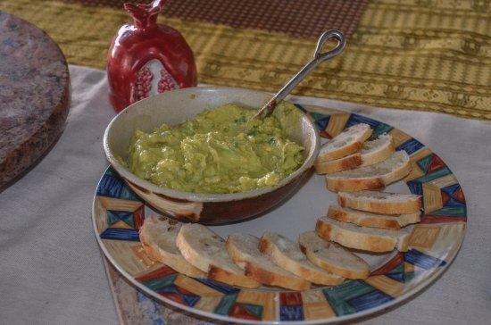 Holualoa, HI: YUM....special guacamole dip