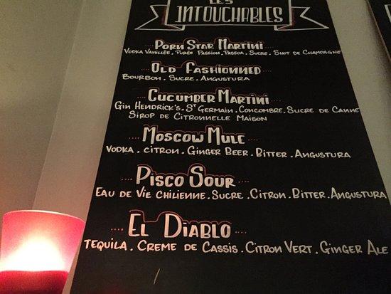 Les Timbres: Les Cocktails intouchables , et pleins d'autres créations pour votre plus grand plaisir