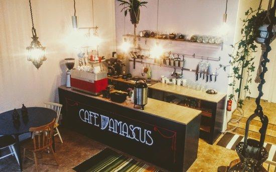Image result for Damascus To helsinki cafe