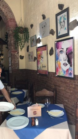 Ayamonte, Spain: Interior del Restaurante