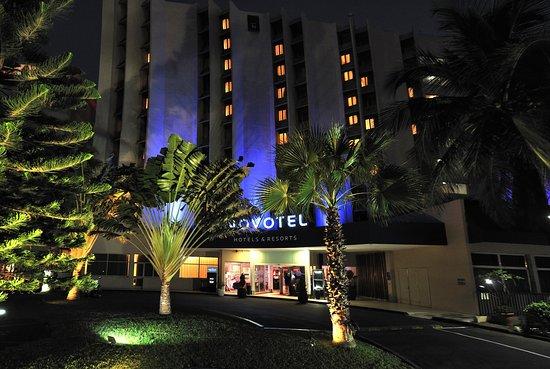 Novotel Dakar: Façade hôtel