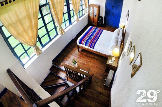 Hacienda Pinsaqui: The room we stayed in