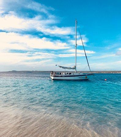 Kralendijk, Bonaire: Relaxing at No Name Beach - Klein Bonaire