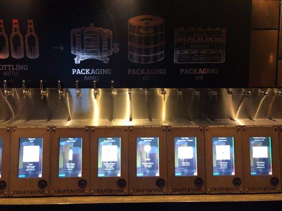 Roanoke, TX: Beer and Wine Taps