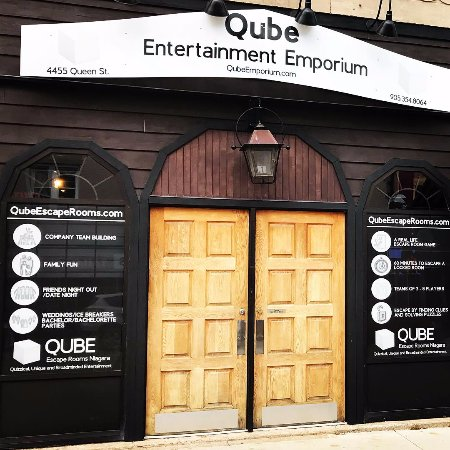 ‪Qube Escape Rooms Niagara‬