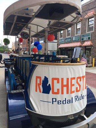 Rochester, MI: 15 Passenger Pedal Bike