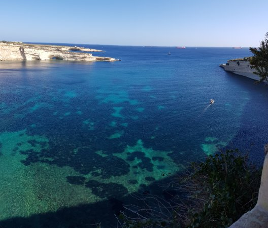 Marsaxlokk, Malta: View of the larger bay that's next to St.Peter's Pool