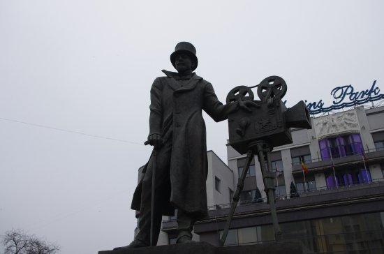 Monument to Aleksandr Khanzhonkov