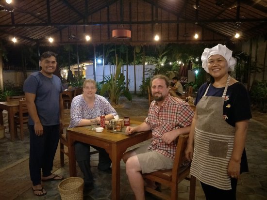 Nice atmosphere here at Mudra Angkor Restaurant.