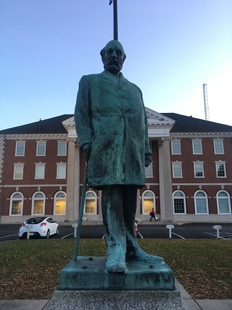 Collis P. Huntington Statue