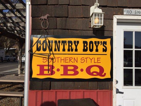 Cashmere, WA: Sign