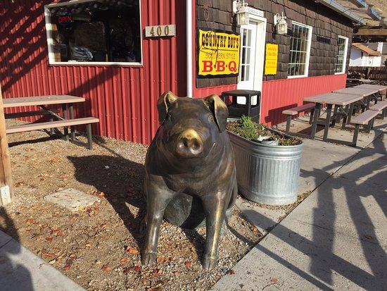 Cashmere, WA: Pig