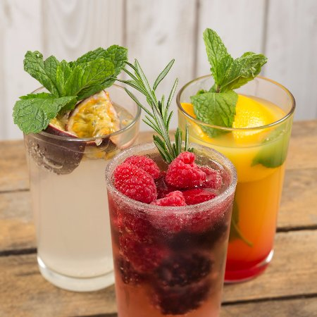 Thetford, UK: Fruity Mocktails
