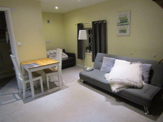 Hursley, UK: The downstairs area