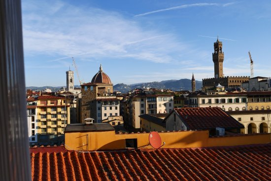Pitti Palace al Ponte Vecchio: View from Breakfast room