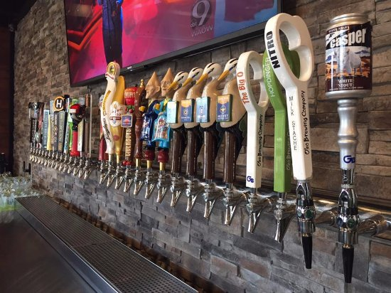 Stevens Point, WI: Our tap selection changes often, be sure to come try your favorite before it changes!