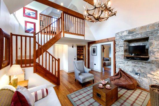 Ardgay, UK: Living room in cottage Ghillie's Rest