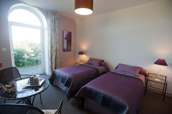 Saint-Vigor-le-Grand, Франция: Chambre Bocage (1 à 2 personnes) en Rez de jardin