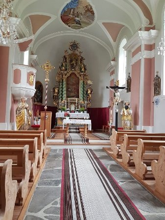 Umhausen, Österreich: Altar