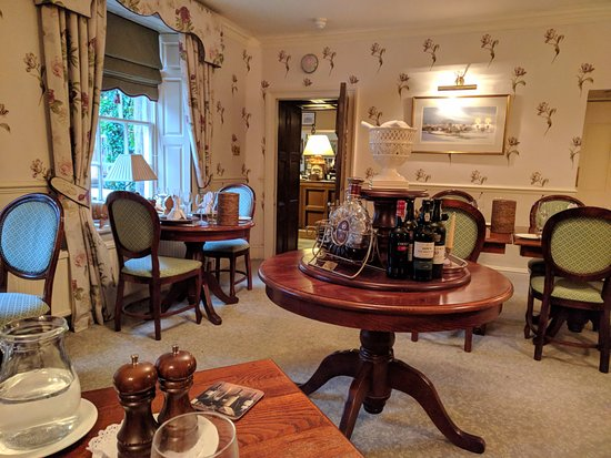 Ashford-in-the-Water, UK: Dinning Room