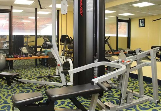 Our fitness room is open hours day kuva ocean sands