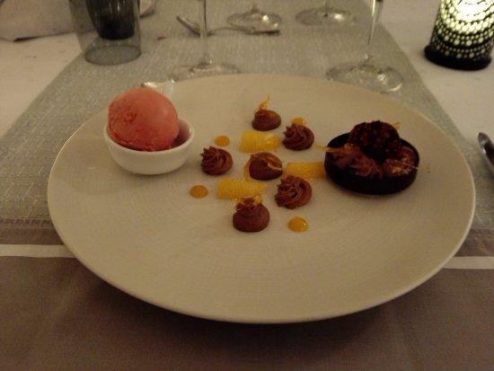 Ingersheim, Frankreich: un dessert