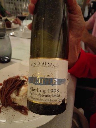 Ingersheim, Frankreich: un vin vieux et bon