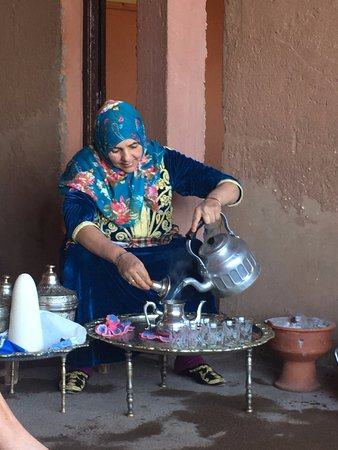 Mint tea from our lovely Berber lady - Picture of Berber Cooking