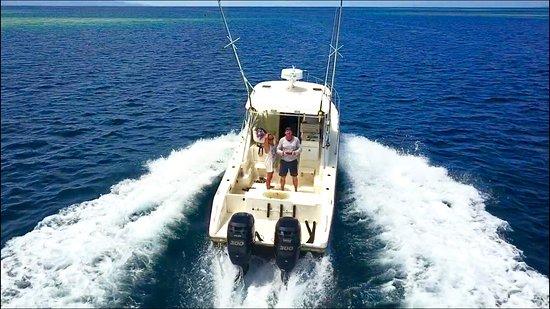 Gizo, หมู่เกาะโซโลมอน: Fishing trip.....
