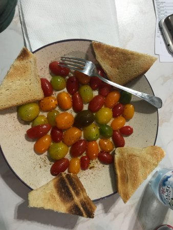 Gorgonzola, Włochy: Pomodori gialli, verdi e rossi 😋😋
