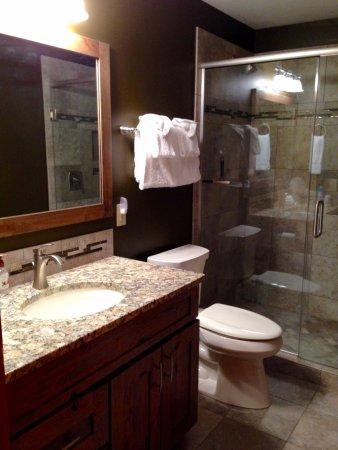 Eagle River, WI: Hudson House Bathroom