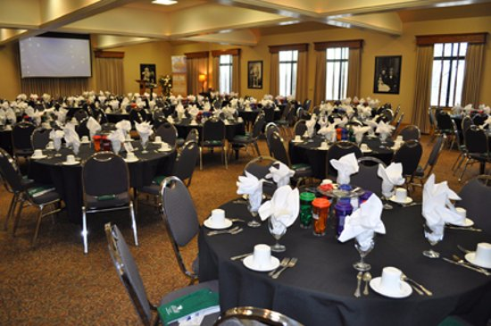 Leavenworth, KS: banquet held in the Riverview Room