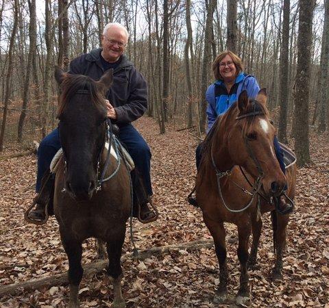แนชวิลล์, อินเดียน่า: My husband and I.