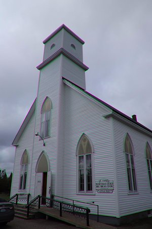 Big Bras d'Or, Canada: A nice looking church