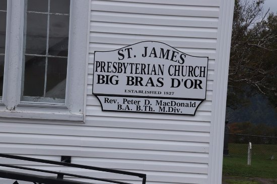 Big Bras d'Or, Canada: St. James Presbyterian Church