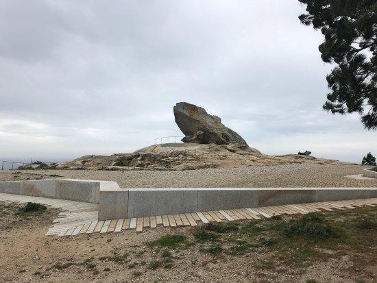 Ribeira, Spania: Vista espectacular de complejo dunar de Corrubedo