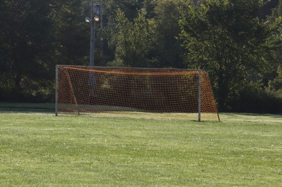 Antigonish, Canada: A football net