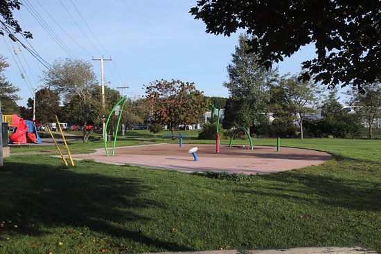 Antigonish, Canada: The splash pad