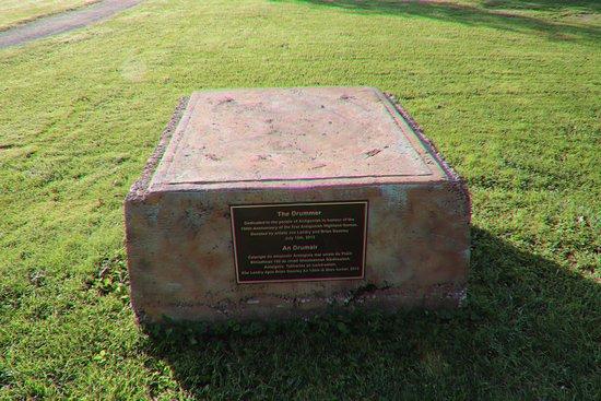Antigonish, Kanada: A plaque